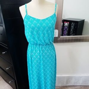 Faded Glory | NWT Turquoise Super Soft Maxi Dress